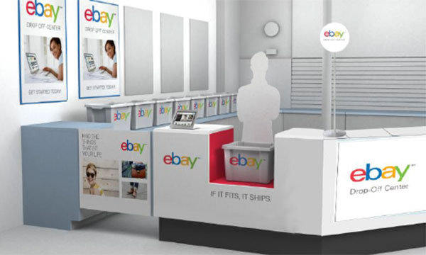 eBay Valet in-store experience